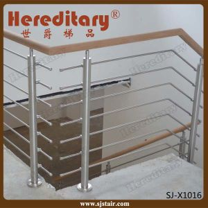 Indoor Bar Balustrade for Stair Railing Stainless Steel Material (SJ-X1016) pictures & photos