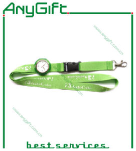 Woven Lanyard with Compass with Customized Logo pictures & photos