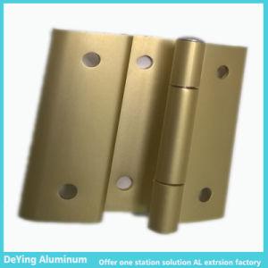 Competitive Aluminum Profile Aluminium Factory Hardware Anodizing in Yellow pictures & photos