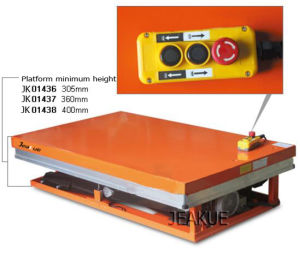 4000kg Two Scissors Electric Lift Table pictures & photos