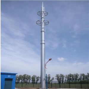Electric Power Transmission Lines Steel Pole pictures & photos
