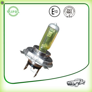 Headlight H4 24V Yellow Halogen Auto Bulb/ Lamp pictures & photos