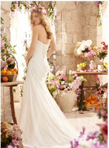 2016 Mermaid Lace Bridal Wedding Dresses Wd6802 pictures & photos
