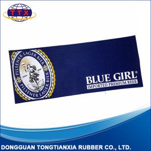 Factory Custom Design Logo Rubber PVC Bar Mat pictures & photos