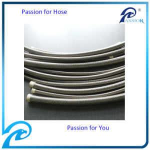Stainless Steel Braided PTFE / Teflon Hoses /SAE 100r14 Hydraulic Hoses pictures & photos