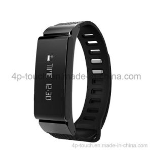 Anti-Lost Bluetooth Smart Bracelet with OLED Display Wristwatch W6 pictures & photos