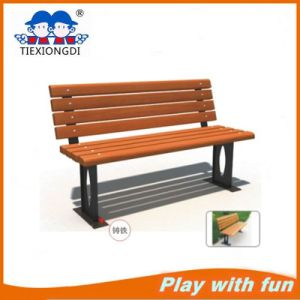 Exterior Garden Chair Wood Plastic Bench pictures & photos