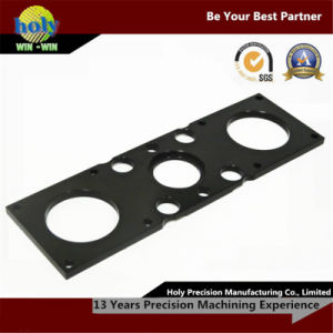 Custom CNC Machining Electron Plate by Black Aluminium Oxide pictures & photos