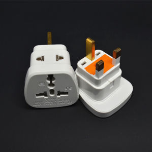 Universal Au Us EU to UK Plug Travel Wall AC Power Charger Outlet Adapter 250V 13A Transform Plug with Safety Shutter pictures & photos
