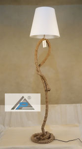 Unique Fabric Floor Lamp with Rope Stand (C5008263-2) pictures & photos