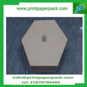 Custom Gift Hexagon Craft Candy Jewelry Handmade Packing Box with Inner Tray pictures & photos