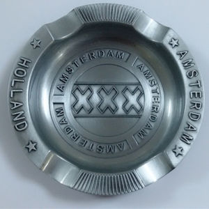 Holland Amsterdam Metal Gift Round Ashtray Souvenir for Men (B5009)