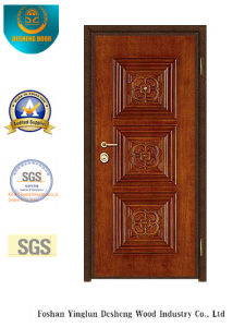 Brown Color Classic Style Security Door () pictures & photos