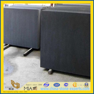 Flamed G684 Black Basalt Tiles for Paving, Wall and Floor pictures & photos