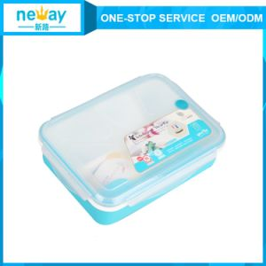 High Quality Blue and Pink Best New Arrival Japanese Lunch Box pictures & photos