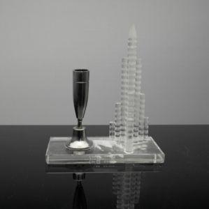 Crystal Burj-Al-Arab Building Model for Crystal Souvenir pictures & photos
