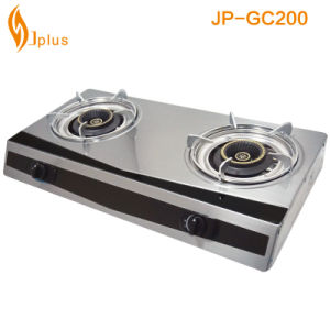 Stainless Steel 2 Burner Gas Burner (JP-GC200) pictures & photos