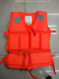High Quality Children Professional Polyethylene Foam Safety Life Jacket (Orange) pictures & photos