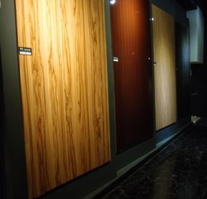 1220X2440 18mm Thickness UV MDF Panels Melamine Face for Kitchen Cabinets pictures & photos