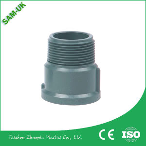 Grey Color PVC Pipe Fittings Equal Coupling/Socket/PVC Sanitary Pipe Fittings pictures & photos