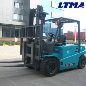 Chinese Famous Supplier Ltma 5 Ton Electric Forklift Price pictures & photos