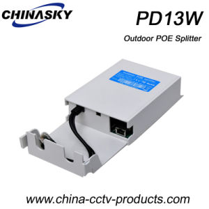 Non-Isolated Outdoor IP Camera Poe Splitter (PD13W) pictures & photos