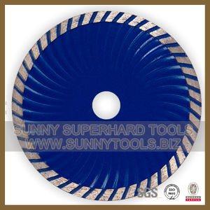 Diamond Turbo Wave Rim Saw Blade, Granite Turbo Cutting Blade pictures & photos