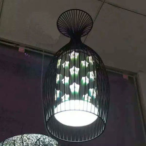 The Latest Modern Metal Pendant Lamps Lighting for restaurant or Club with 3D Glass Shades pictures & photos