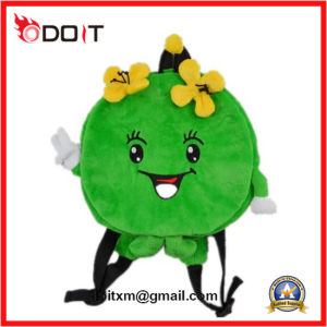 Lovely Green Apple Baby Plush Bag for Kids pictures & photos