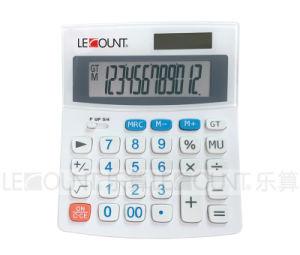 12 Digits Medium Size Dual Power Desktop Calculator (LC229) pictures & photos