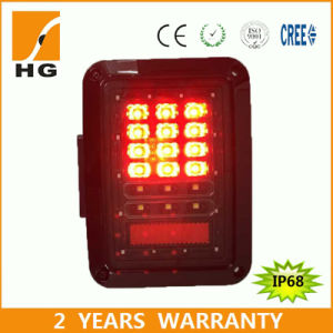 LED Square Tail Light for Jeep Wrangler pictures & photos