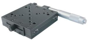 50mm Travel Linear Translation Stages with High Precision Crossed Roller Guide Rails pictures & photos