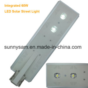 60 Watts Waterproof Grade IP65 High Brightness Solar Street Light pictures & photos