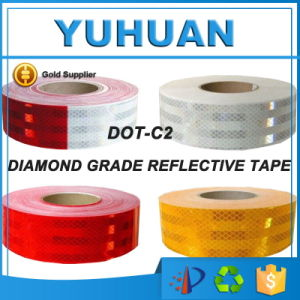 PVC / Pet Truck Vehicle Safety Light Honeycomb Retro Conspicuity Reflective Tape pictures & photos