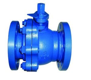 API Copxy Coating Cast Iron Wras Ball Valve pictures & photos