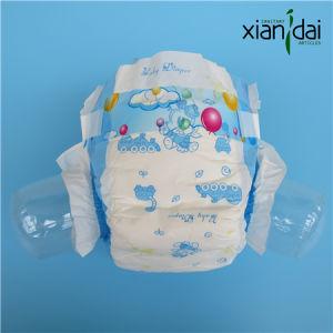 Economic Baby Diaper with PE Film