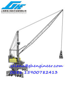 Wheel Type Mobile Habour Crane pictures & photos