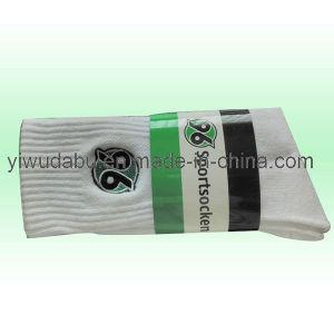 Customized School White Cotton Socks (DABU-MCS0019)