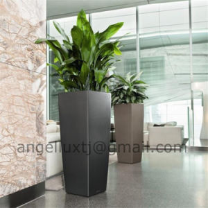 2016 New Design Stainless Steel Flower Pot for Hotel Office Hall pictures & photos