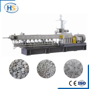 Co-Rotating PP PE Plastic Pellet Granule Making Machine Plastic Extruder for Sale pictures & photos