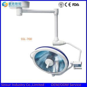 Surgical Instrument Ceiling One Head Shadowless Operating Lamp pictures & photos