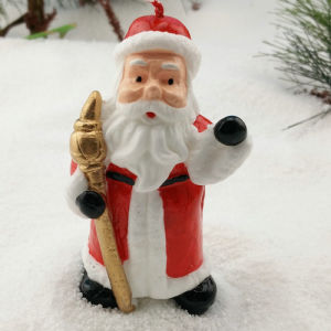 New Lovely Father Christmas Candle pictures & photos