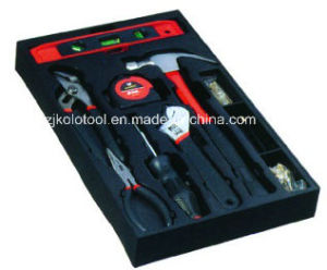 58PC Basic Household Hand Tool Kit with Blow Mould Case pictures & photos