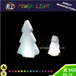 Christmas Decor Color Changing Plastic LED Christmas Tree pictures & photos