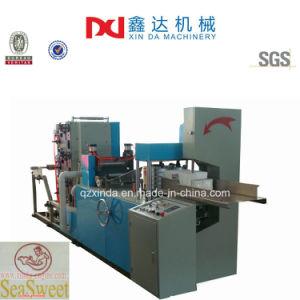 Automatic Color Printing Folding Serviette Napkin Paper Process Machine pictures & photos