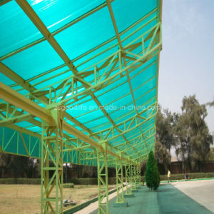 10mm Green Polycarbonate Twin Wall Sheet for Roofing pictures & photos