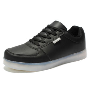 OEM New Style Fashion LED Light Comfort Sports Shoes for Men pictures & photos