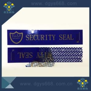 Security Seal Label pictures & photos