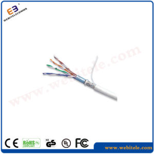 F/UTP Steel Wire Support Shielded Cat 5e Twisted Pair Cable pictures & photos