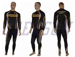 100% Polyester Man′s Cycling Jersey Sportswear pictures & photos